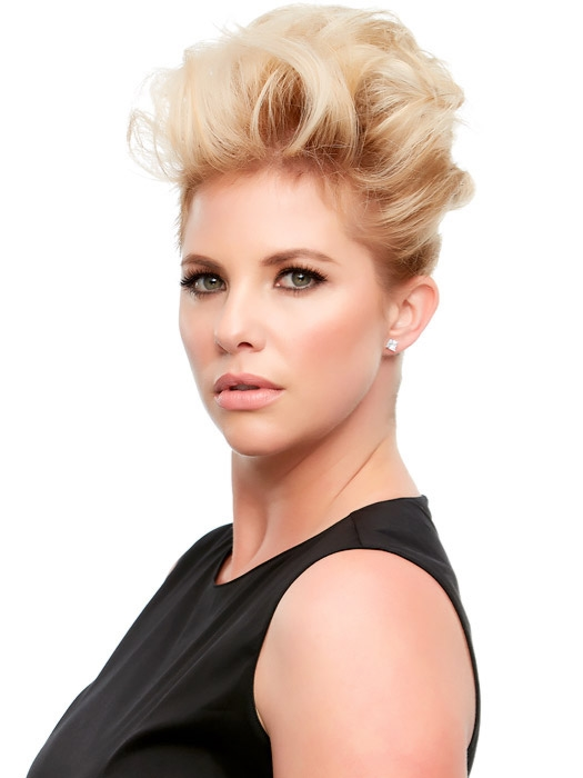 Top this exclusive 8 jon renau clip in hair topper remy human larger photo solutioingenieria Gallery